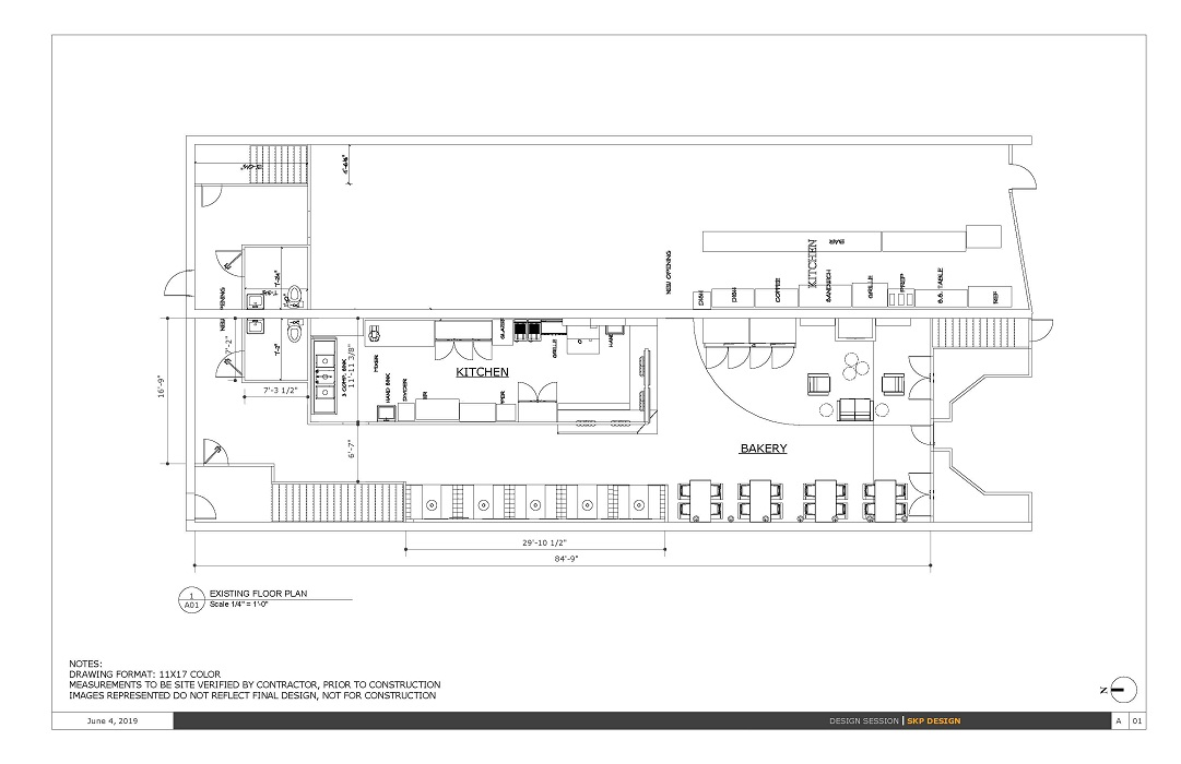 Bakery Floorplan