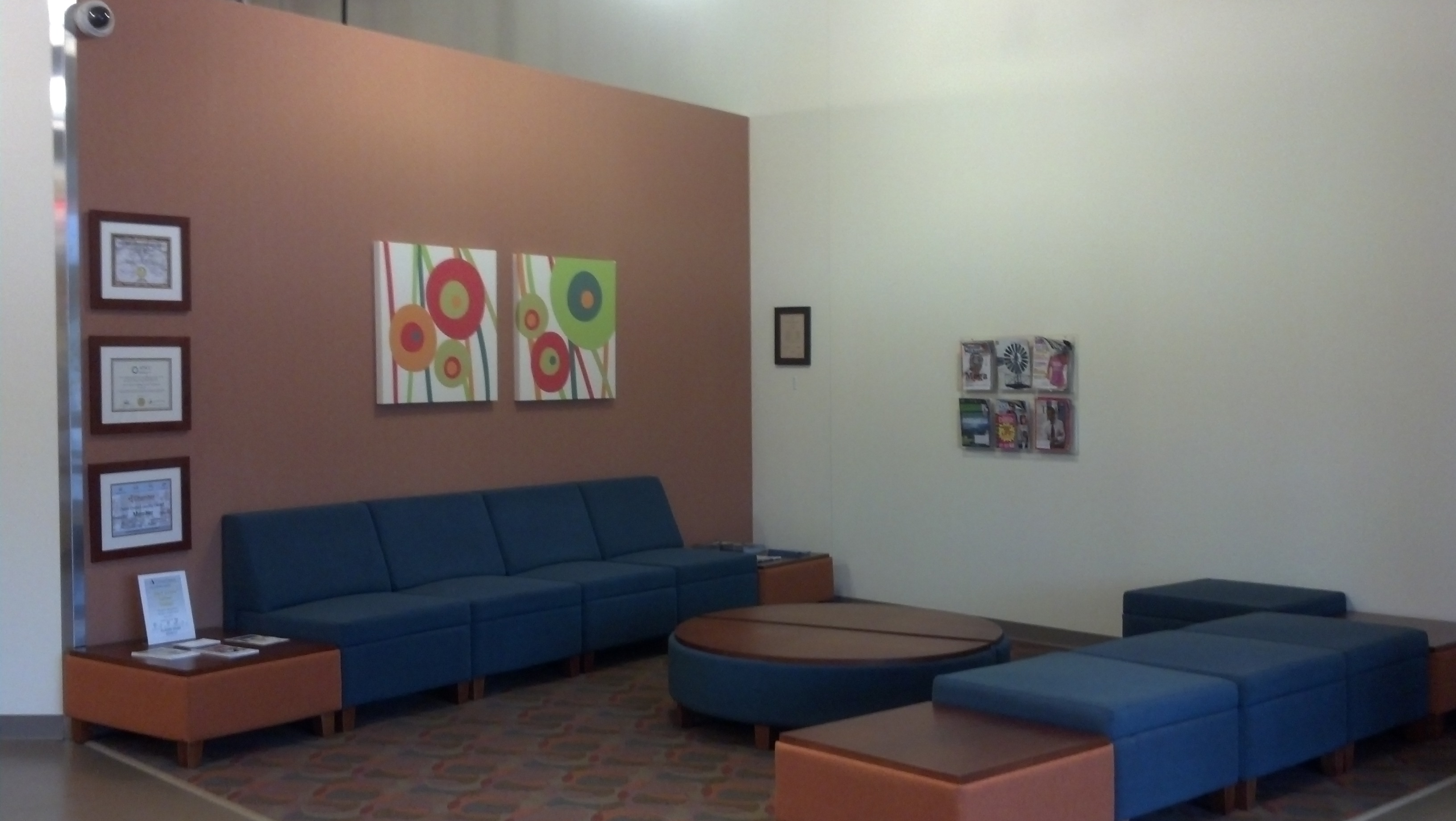 Career Quest Lounge Area