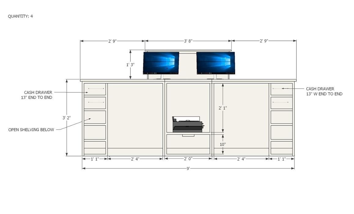 Custom Desk Design Document