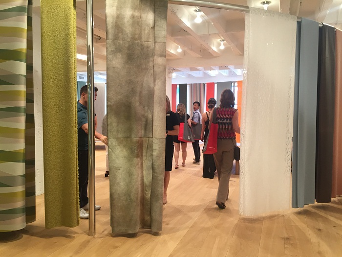Showroom during NeoCon