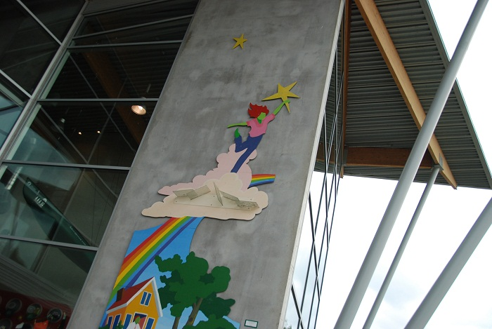Girl Scouts Exterior Detail