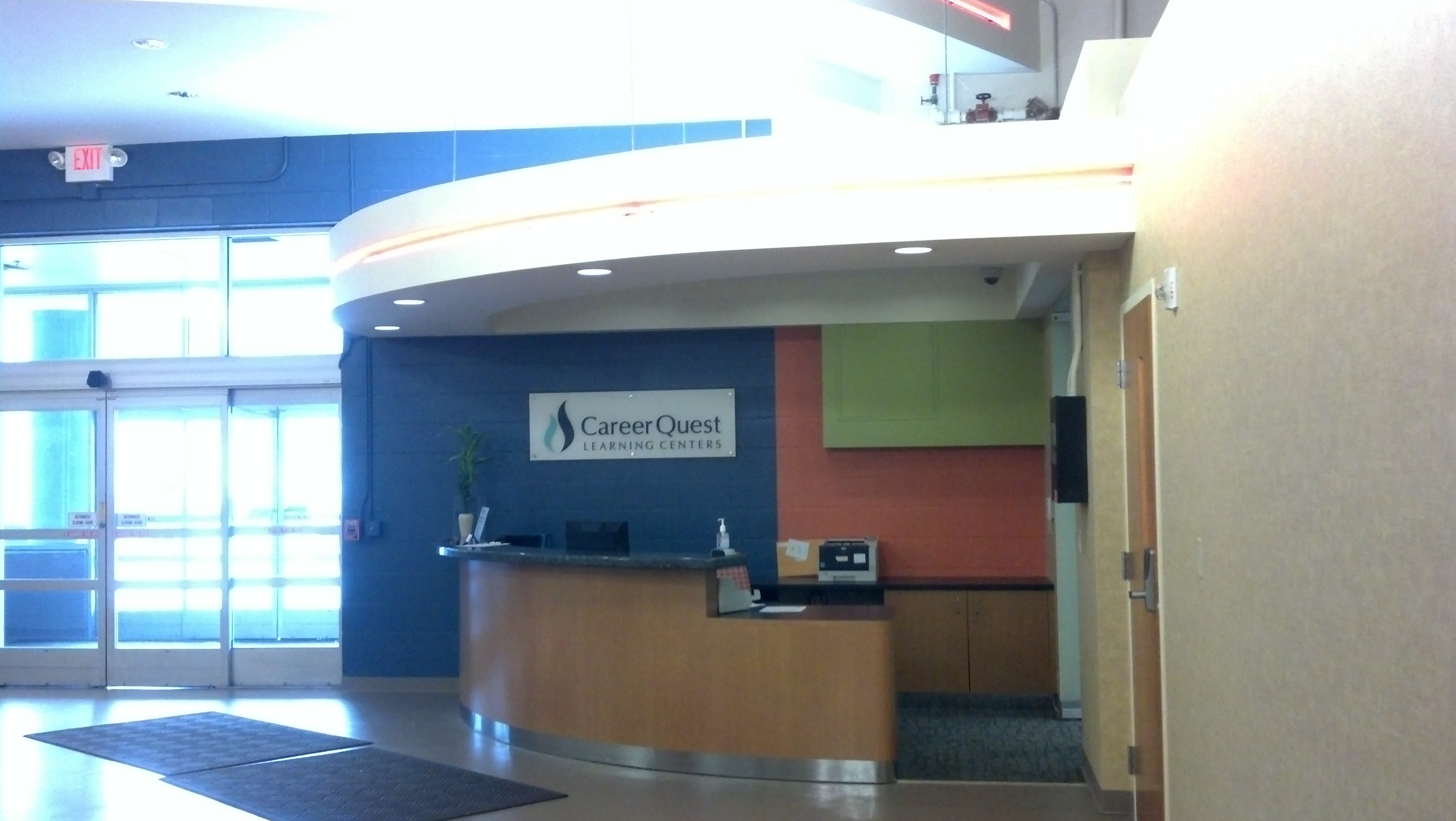 Career Quest Front Desk