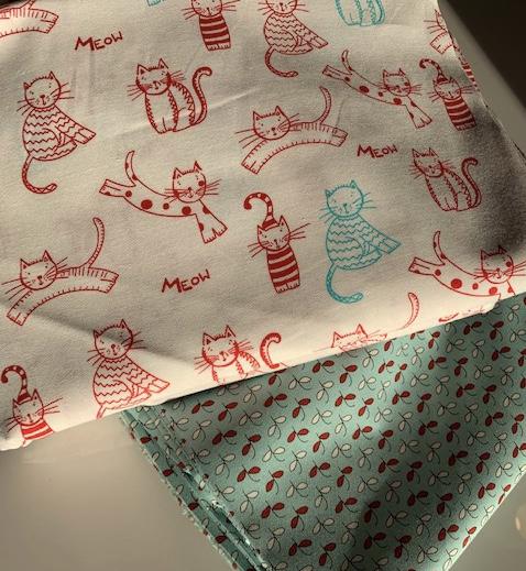 Thrifty Kitty Curtain Fabric