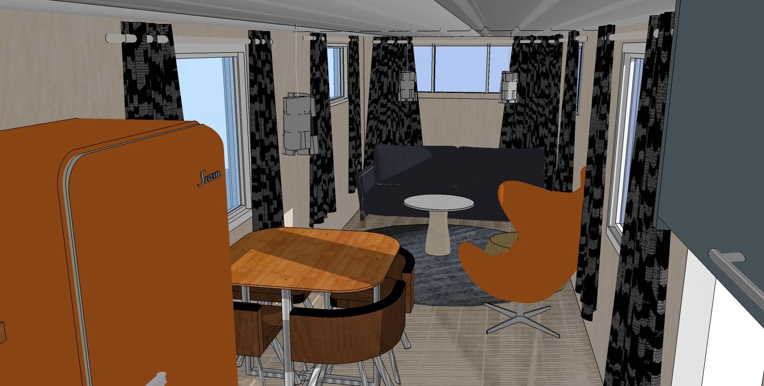 Spartan Imperial Mansion Camper Interior Design