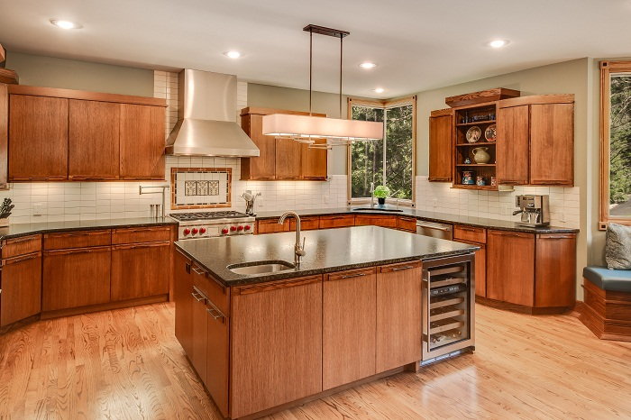 Wright Inspired Kitchen