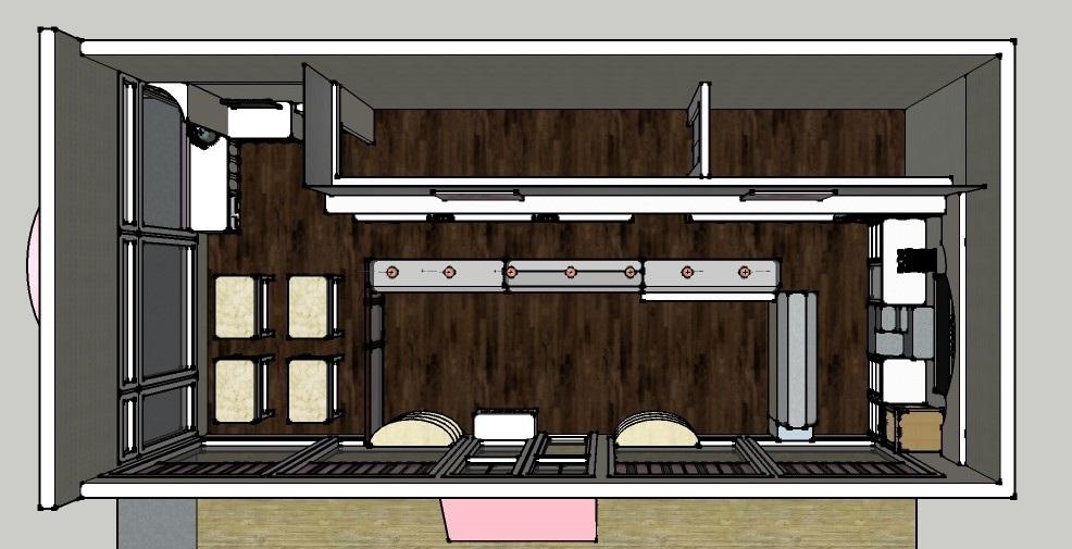 Fudge Shop Floorplan 3D Model