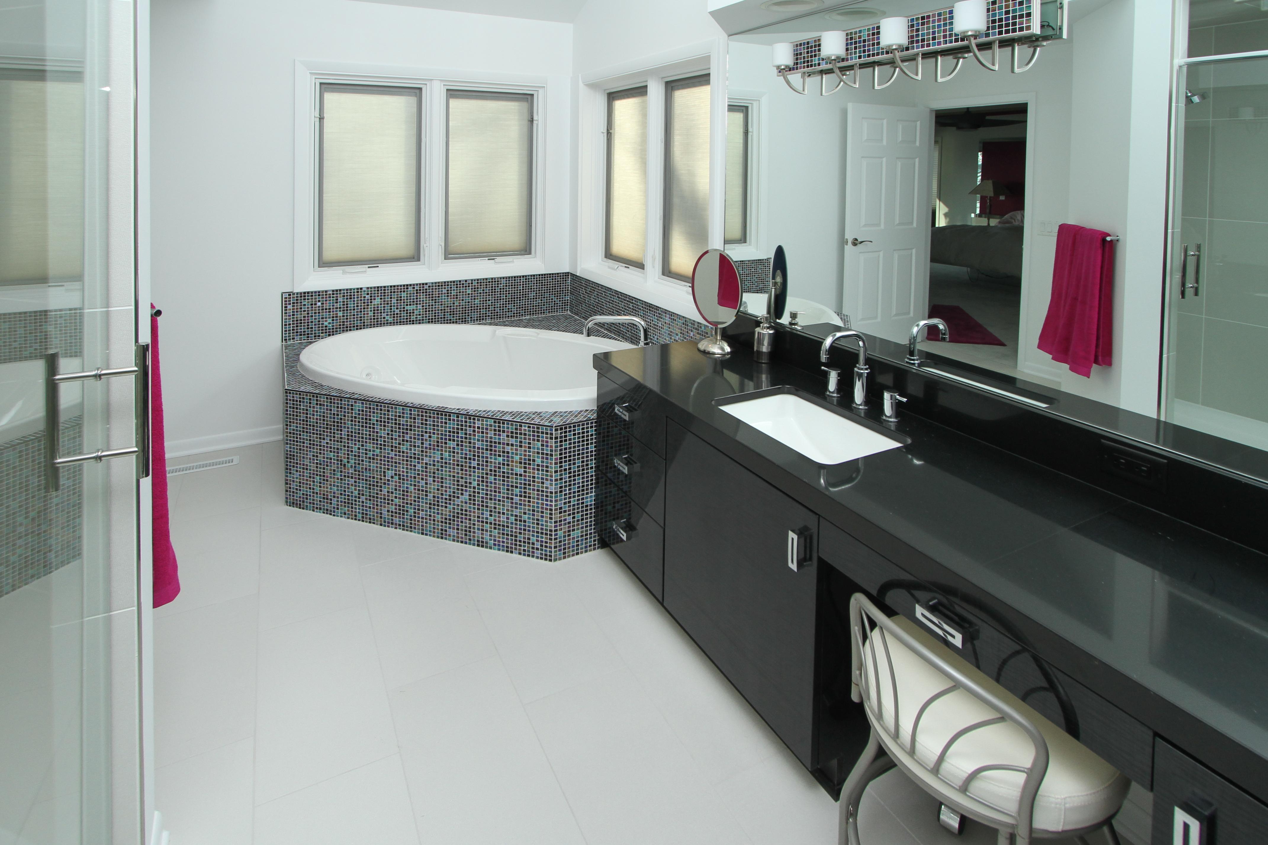Austin Lake Residence Master Bath