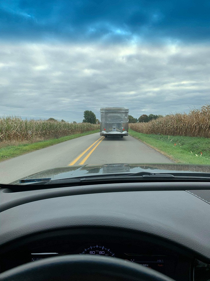 The Spartan travels Michigan's back roads from Kalamazoo to Novi.