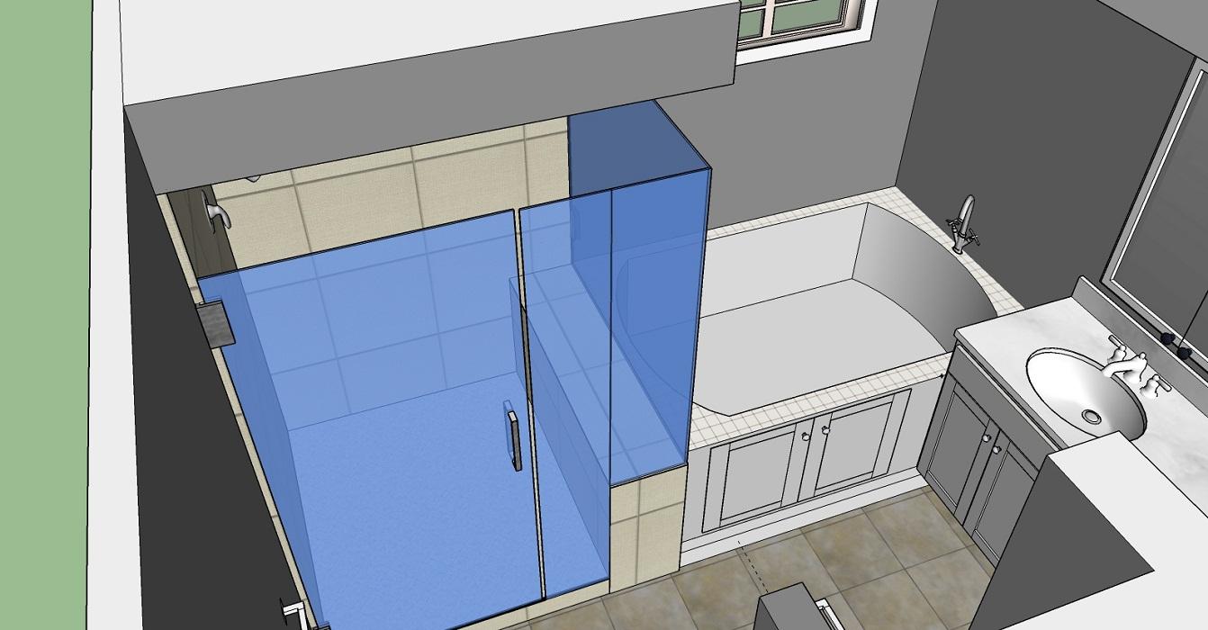 Residential Bathroom 3D Model