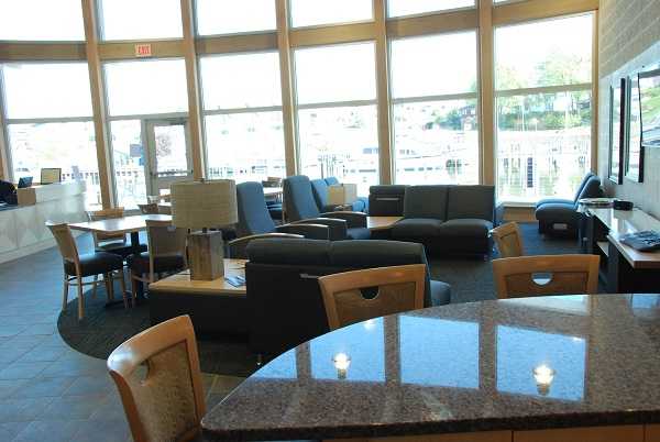 South Haven Marina Interior Lounge