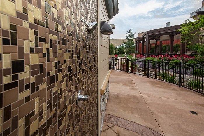 Four Winds Casino Outdoor Shower
