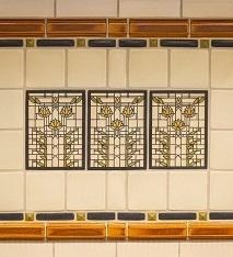 Wright Inspired Tile Detail