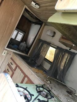 Shasta Camper Interior