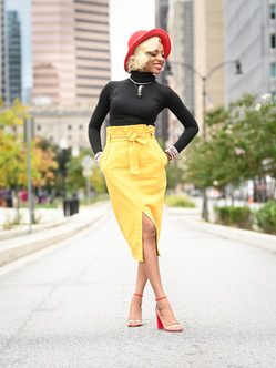 Baltimore Fashion Model
