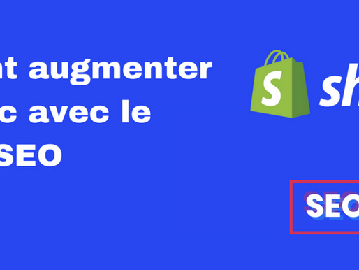 Comment augmenter son trafic avec le Shopify SEO ?