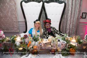 Mad Hatter and Alice - NSPCC Charity Ball