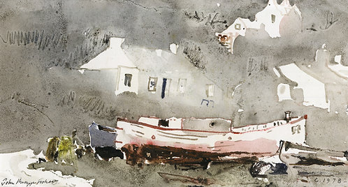 Boat and Houses, Porthgain