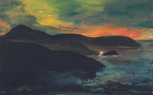 Sunset, North Pembrokeshire Coast
