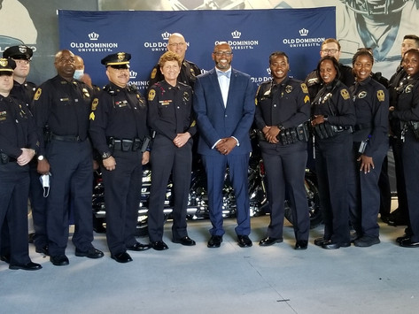 ODU Police Department Celebrates 50 Years in Service