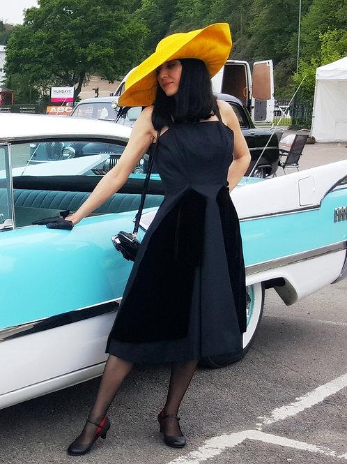 Gigi Young 1950s original dress