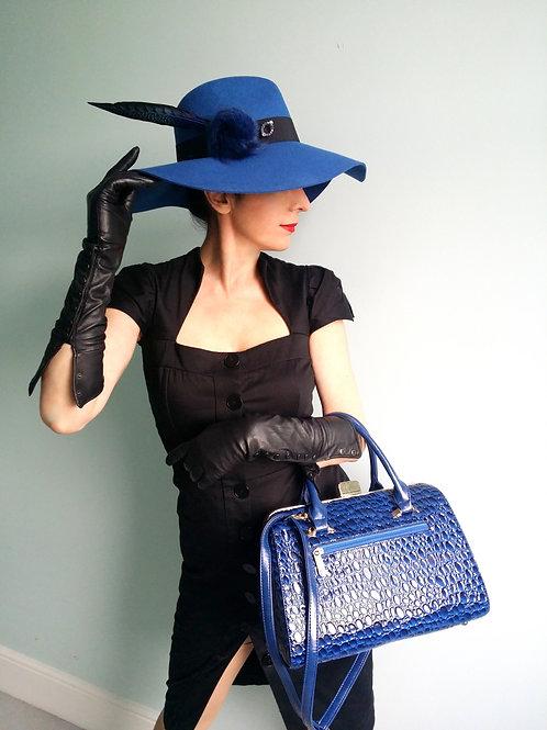 Blue Handbag by Bessie