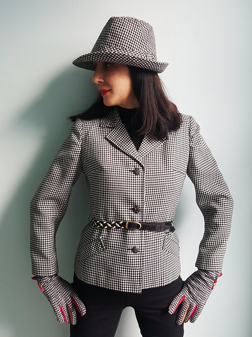 1960's Mansfield Houndstooth Jacket