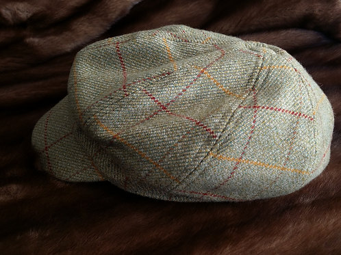 Baker Boy genuine tweed wool cap