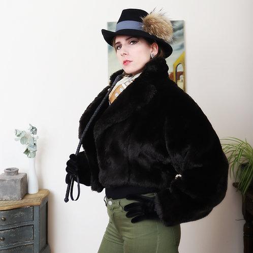 Emmanuelle Khanh Faux Fur 'chubby' jacket