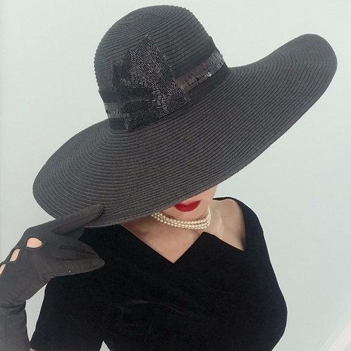 Monaco night sun hat