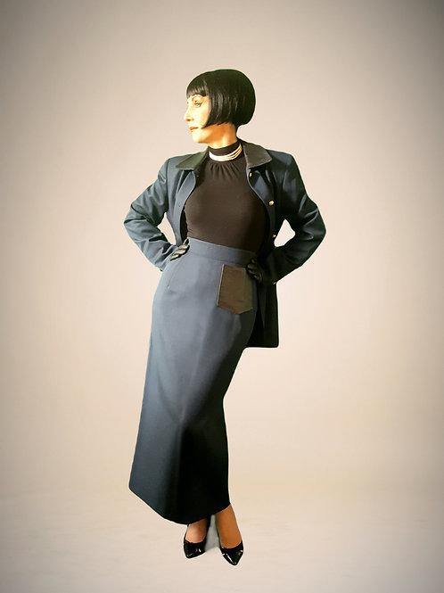 State of Claude Montana vintage 1980s 'futurist' suit