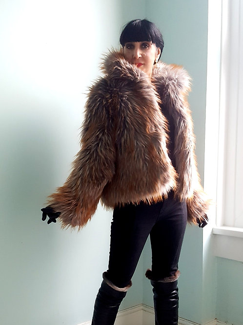 Gorgeous Faux Fur chubby jacket