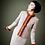 Thumbnail: Beautiful luxurious elegance: softest pure new wool twill suit fur trim