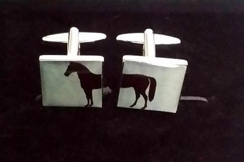 Split horse Cufflinks