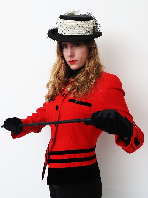 Vintage Mansfield Wool jacket equestrian inspired