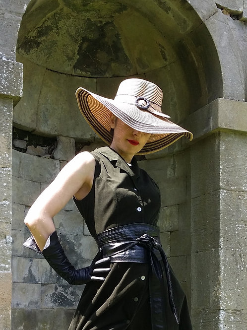 The Villefranche Belt Detail Sun Hat