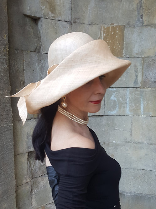 Gabriela Ligenza designer colonial style architectural sun hat