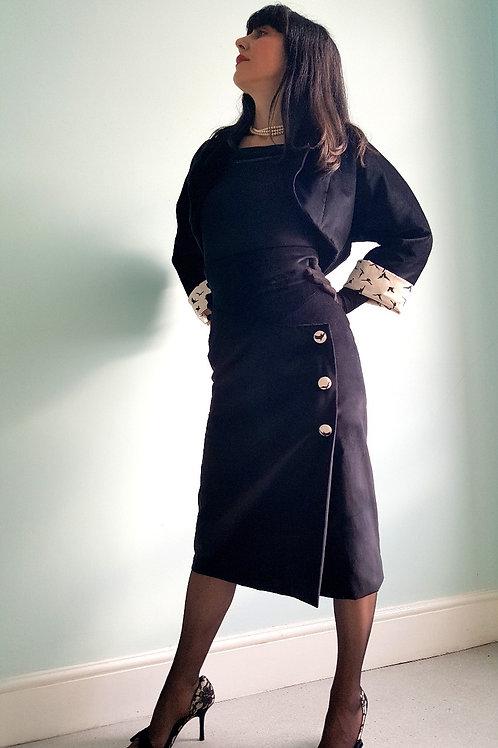 The Hedren Velvet Skirt