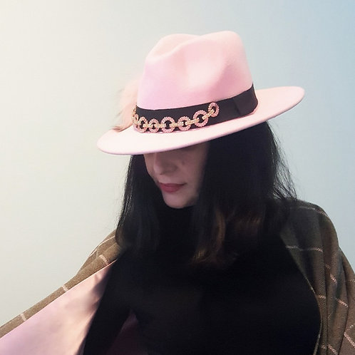 Pink Trilby