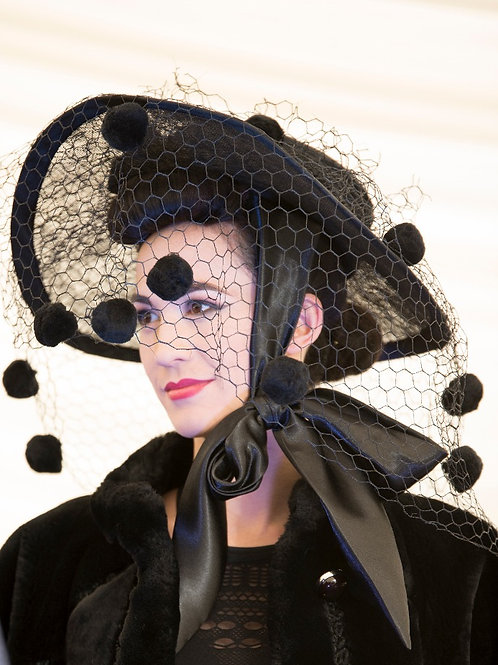 'Beekeeper' Bladerunner inspired hat by Pippa Eastman