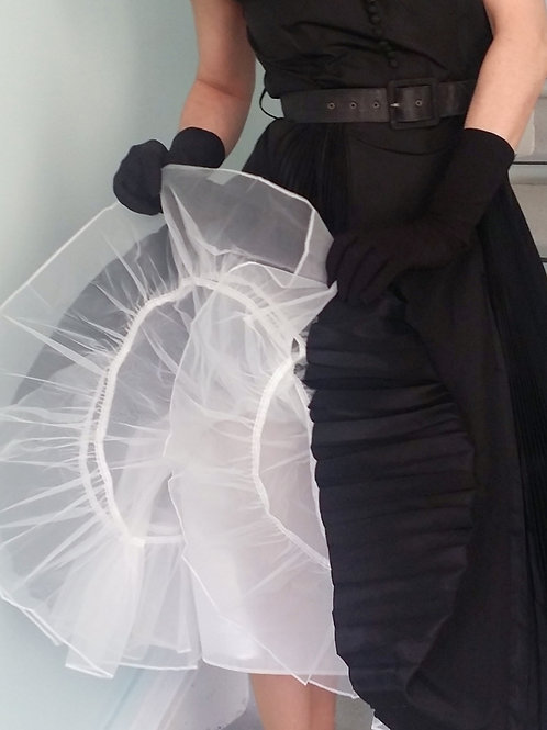 Stiff petticoat underskirt for wear with 50s skirts.