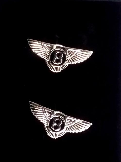 Luxury Car Cufflinks: Bentley -  Rolls Royce - Aston Martin or Jaguar