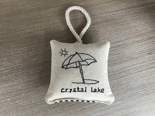 beach umbrella ornament