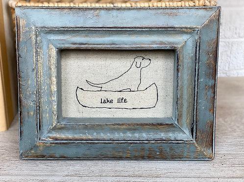 lucky lake dog