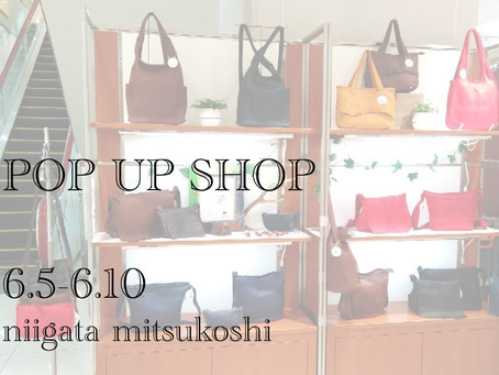 POP UP SHOP 新潟三越