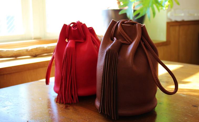 巾着型バッグ