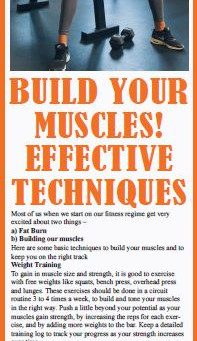 Build your Muscles! Effective Techniques by Reema Sarin, Founder BOLLYFIT