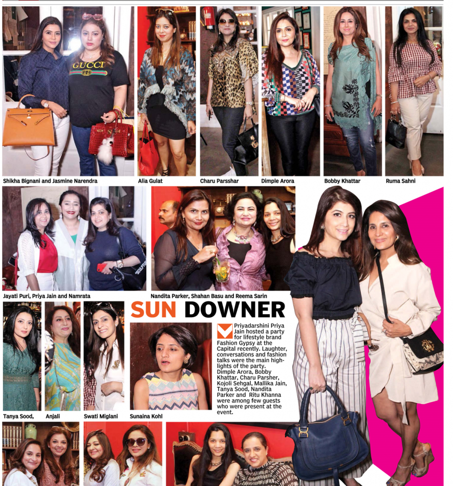 REEMA PARTYING AT SUNDOWNER, TOWNHALL, DELHI