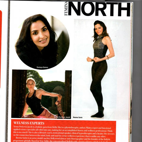 REEMA SARIN Featured in Wellness Experts, North India