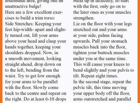 AB Muscles Toning Exercises! By Reema Sarin, Founder BOLLYFIT