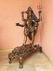Kali und Shiva Kali in Vereinigung mit d